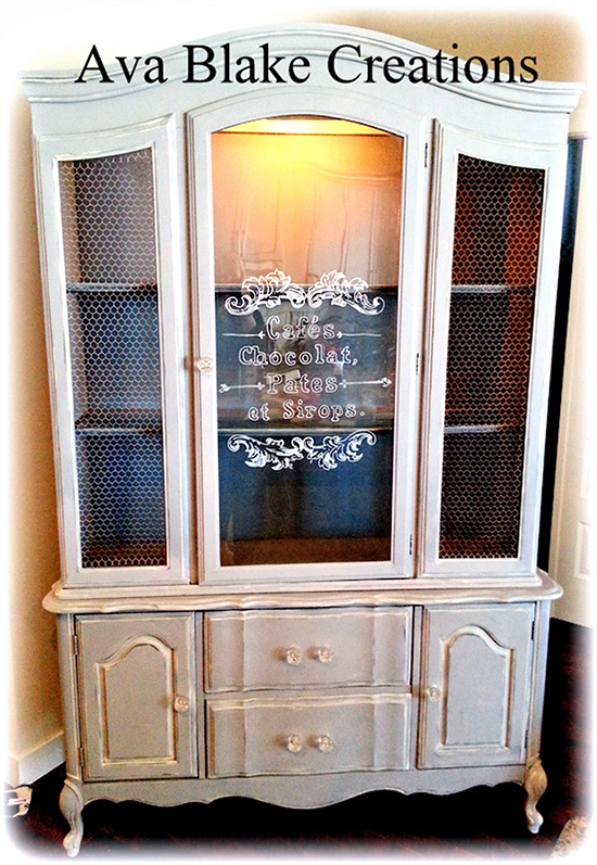 Painted Vintage Buffet & Hutch - Reader Featured Project