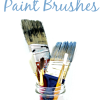 4 Easy Ways To Clean Paint Brushes