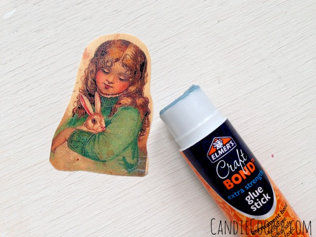 Apply Glue to Printed side