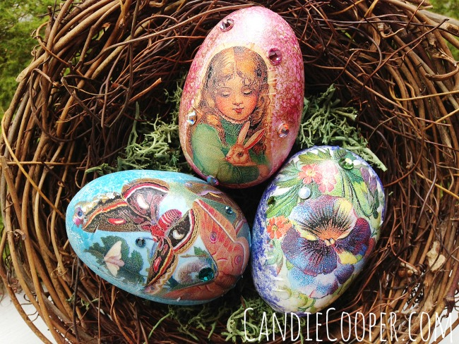Candie Cooper Collaged Easter Eggs.jpg
