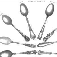 Coffee Spoons Printables