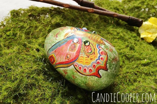 Collaged Easter Egg 1