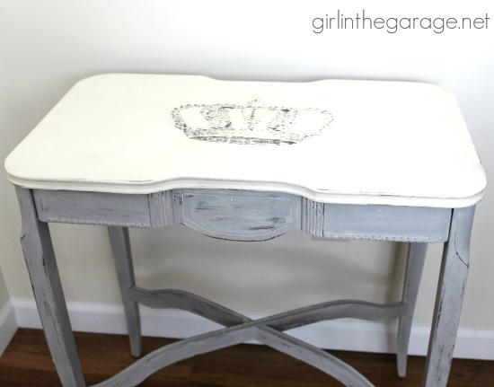 Chalk Painted Furniture Makeover - Reader Featured Project