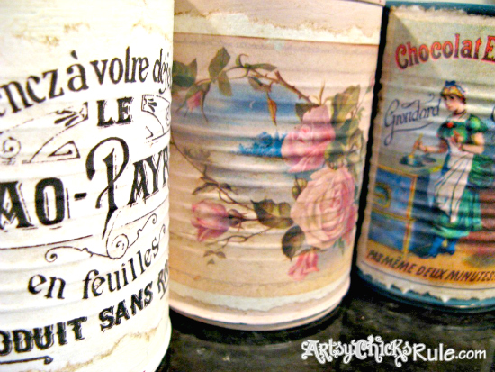 DIY Upcycled Tin Can Crafts - Reader Featured Project