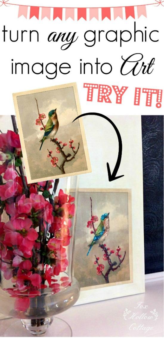 DIY Spring Bird Art – Reader Featured Project