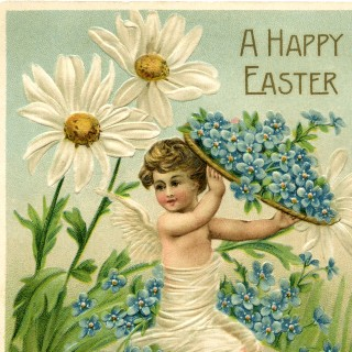 Easter Cherub Image