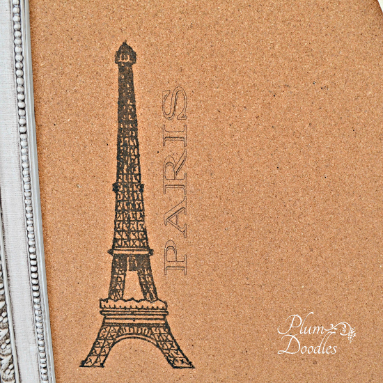 DIY Cork Board - Eiffel Tower - Reader Featured Project