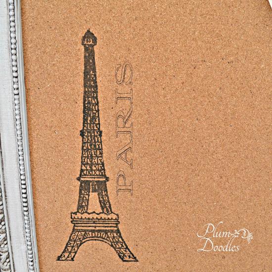 DIY Cork Board - Eiffel Tower - Reader Featured Project