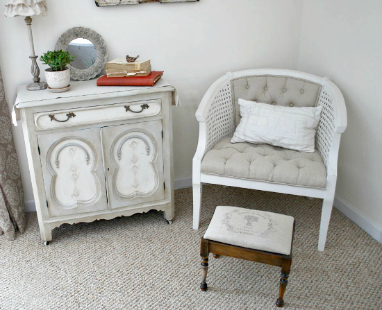 DIY Vintage Grain Sack Stool - Reader Featured Project