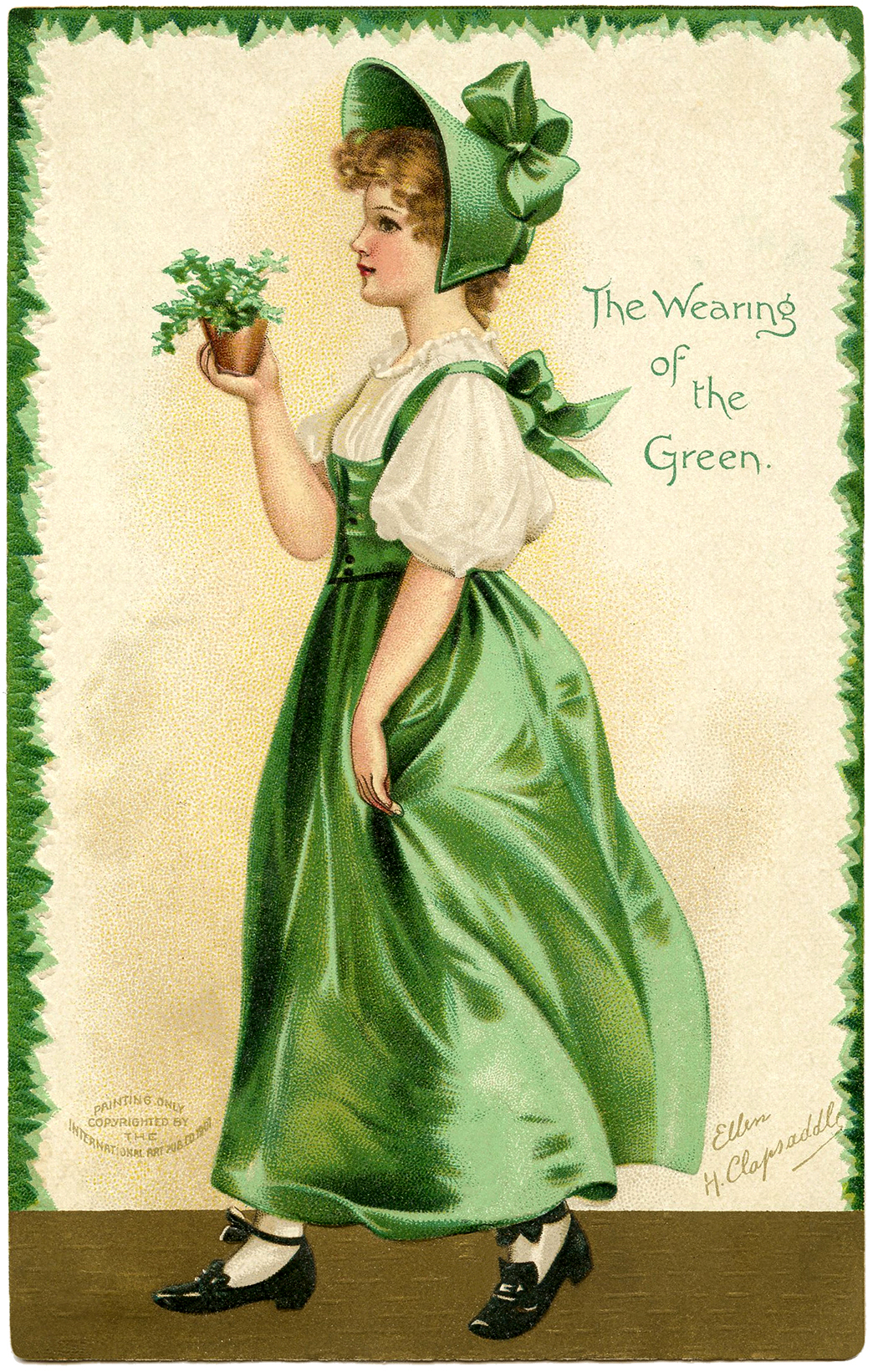 Free Images Person Girl Woman Cute Female Model: Free St Patricks Day Clip Art