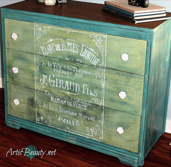 Diy French Painted Dresser Reader Featured Project The