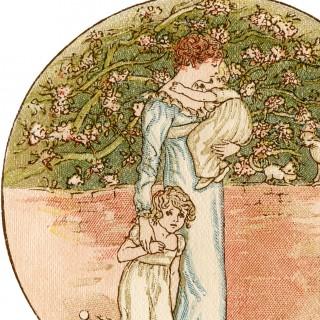 Vintage Mother's Day Illustration – Charming!