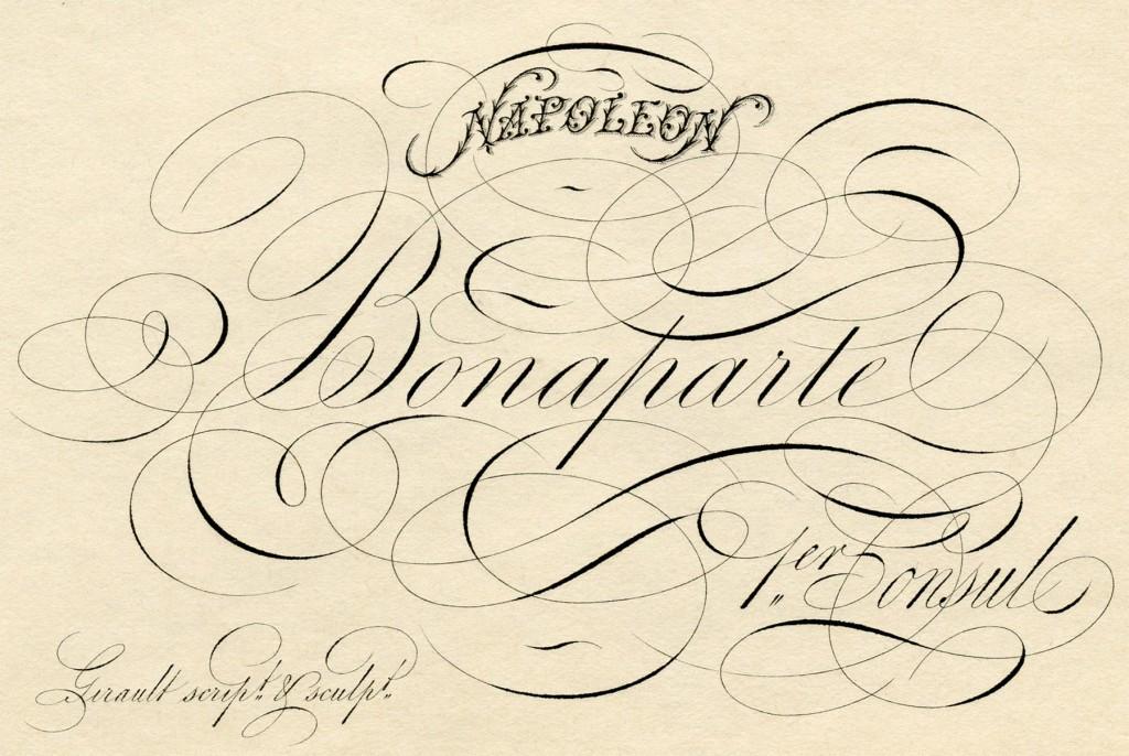 Spencerian Script Napoleon