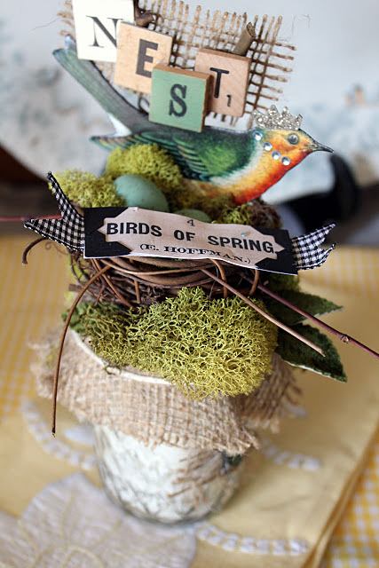 Spring Bird Decor
