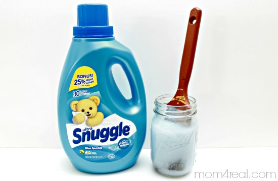 Use Fabric Softener and Water to Clean Paint Brushes