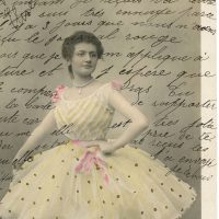 Vintage Ballerina Ephemera