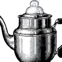 Vintage Coffee Pot Image