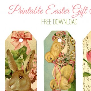 Printable Easter Gift Tags!