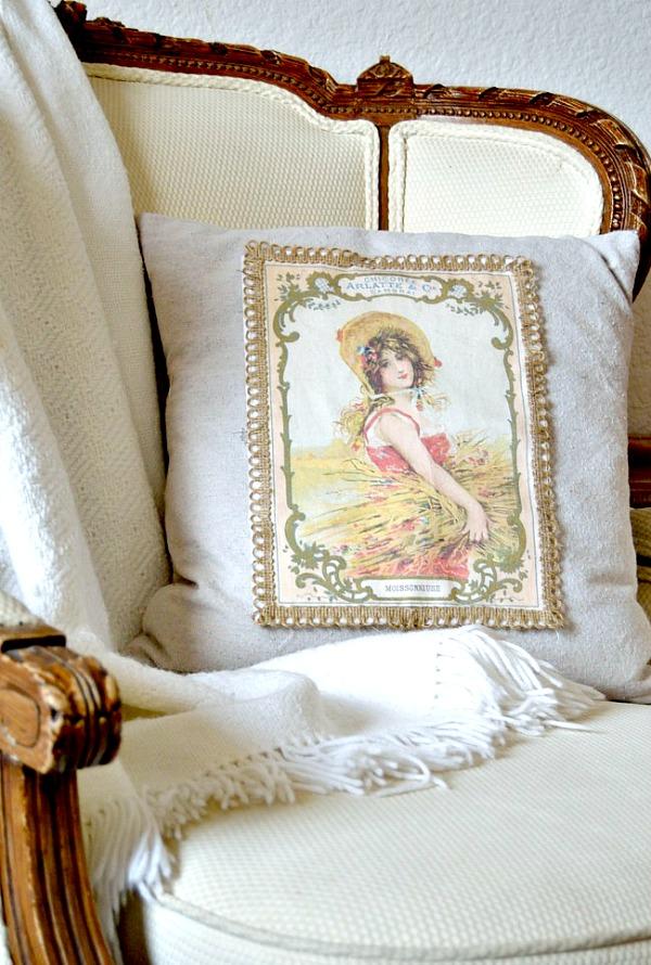 Harvest Girl Pillow