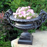 Spring Urn with Flowers