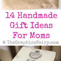 14 Handmade Gift Ideas For Moms