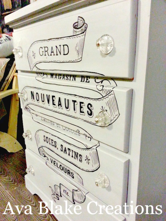DIY Hand Painted Dresser - Reader Featured Project - The Graphics ...