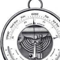 Antique Barometer Image