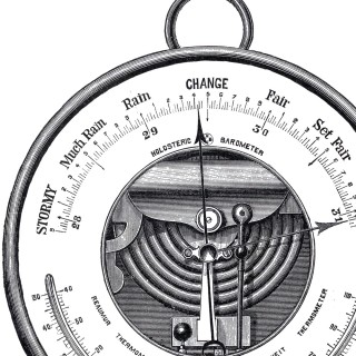 Antique Barometer Image