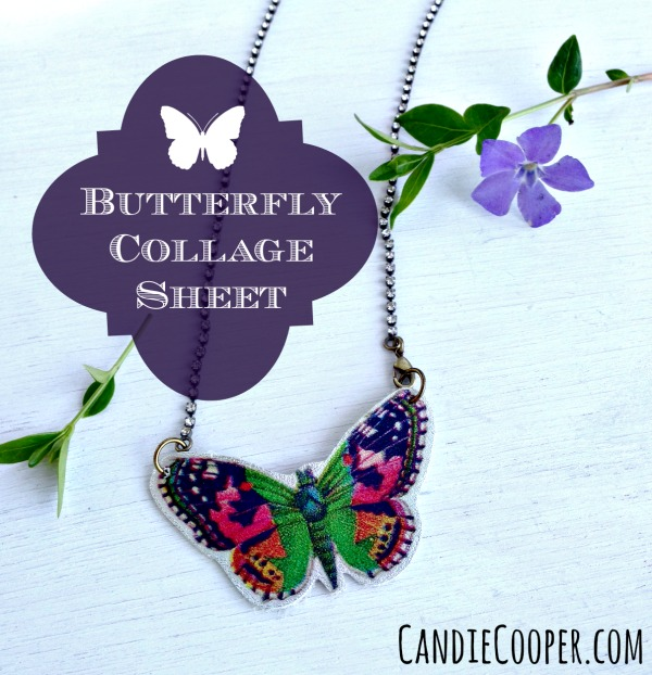 Butterfly Collage Sheet