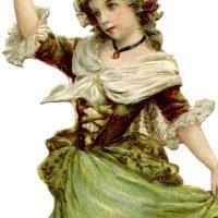 Young Dancing Girl Image