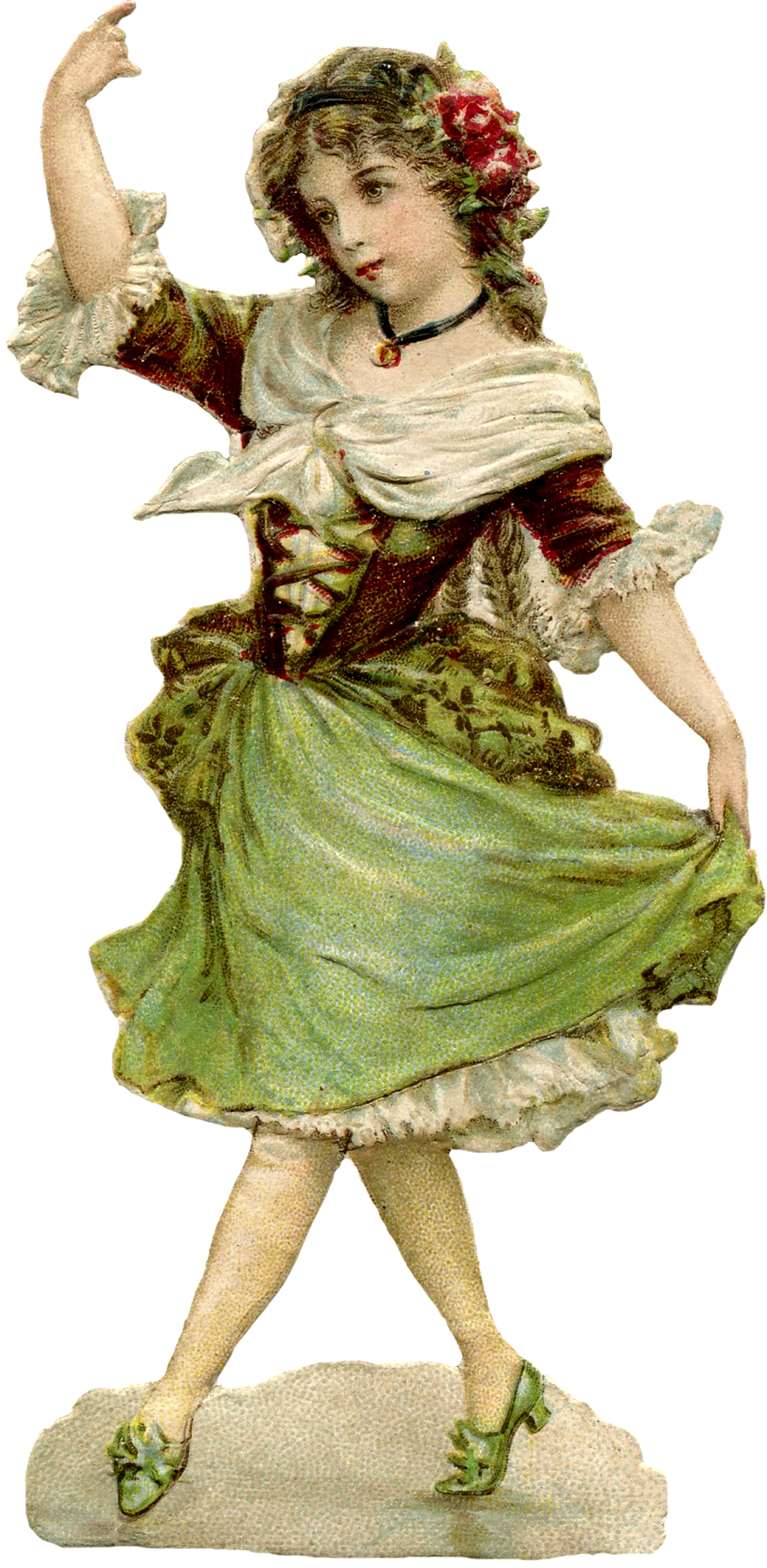 Young Dancing Girl Image