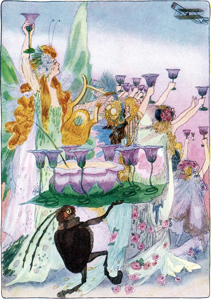 Fairy Party Illustration