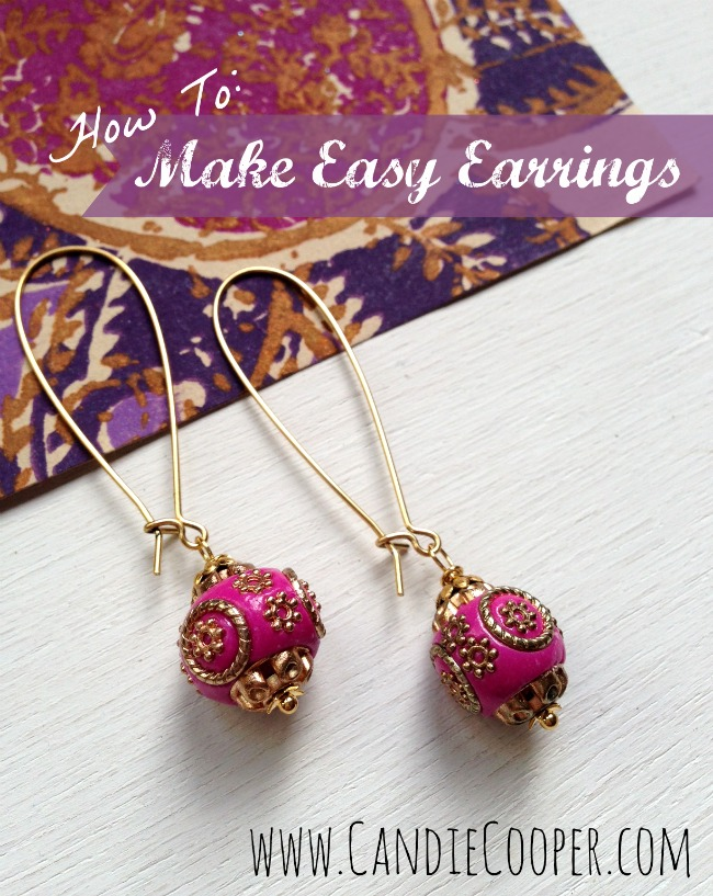 How To Make Easy Earrings