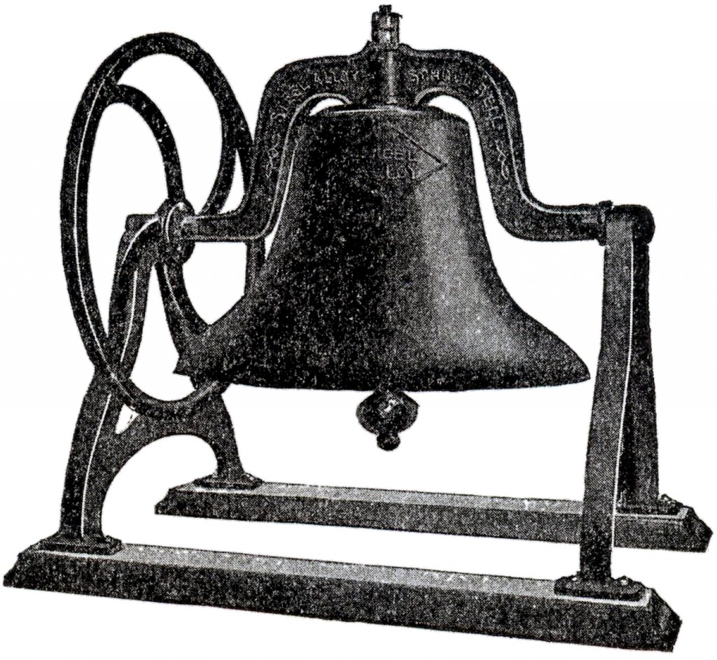 Vintage Iron School Bell Image