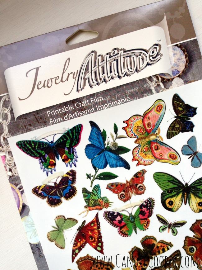 Make a Butterfly Necklace 5