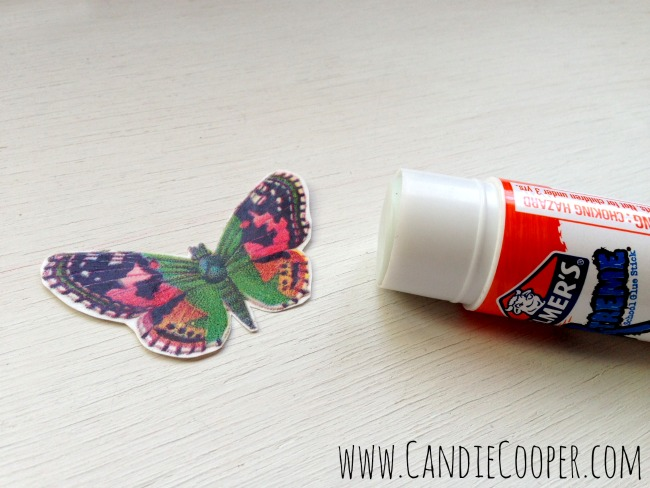 Make a Leather Butterfly Necklace 11