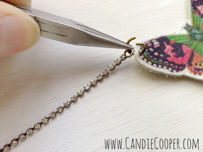 Make a Leather Butterfly Necklace 2