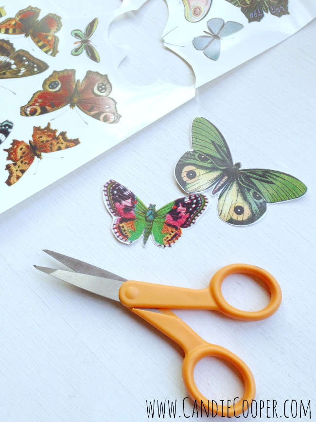 Make a Leather Butterfly Necklace 8
