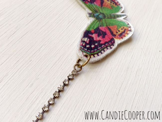 Make an Easy Butterfly Necklace 6