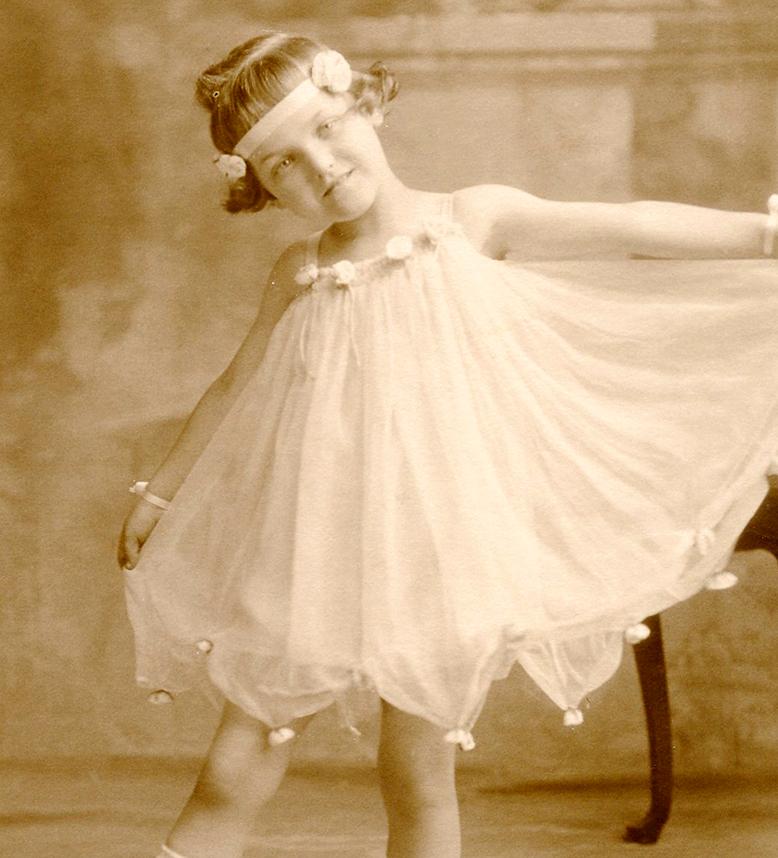 Old Photo Ballerina Child The Graphics Fairy