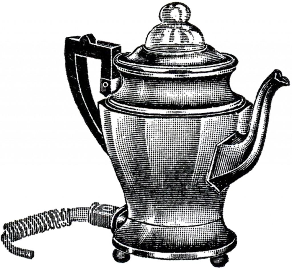 Retro Coffee Pot Image