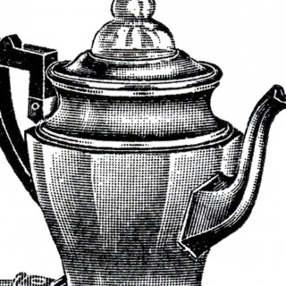 Retro Coffee Pot Image