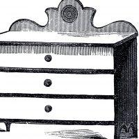 Vintage Cottage Dresser Image