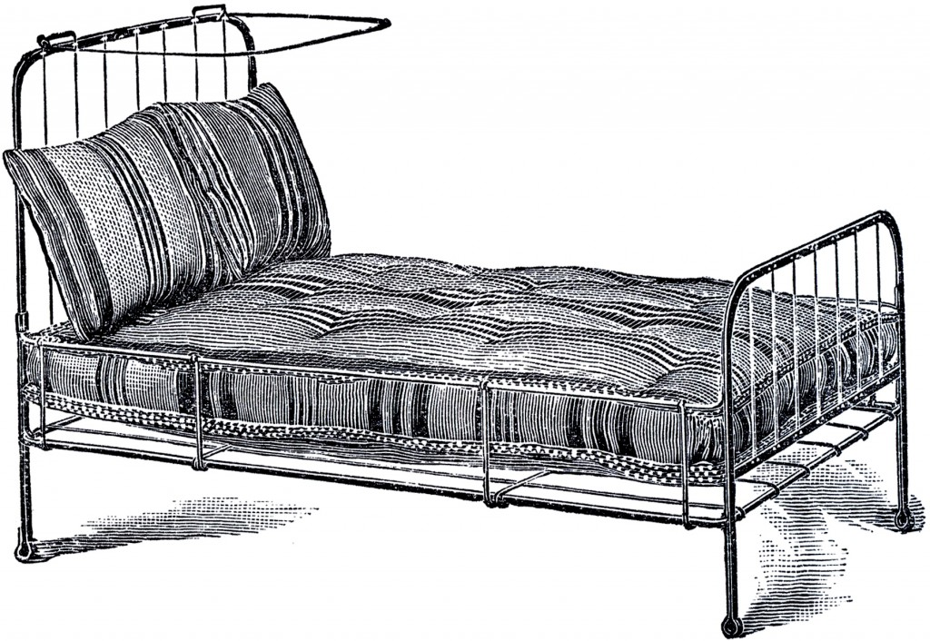 Vintage Iron Bed Image