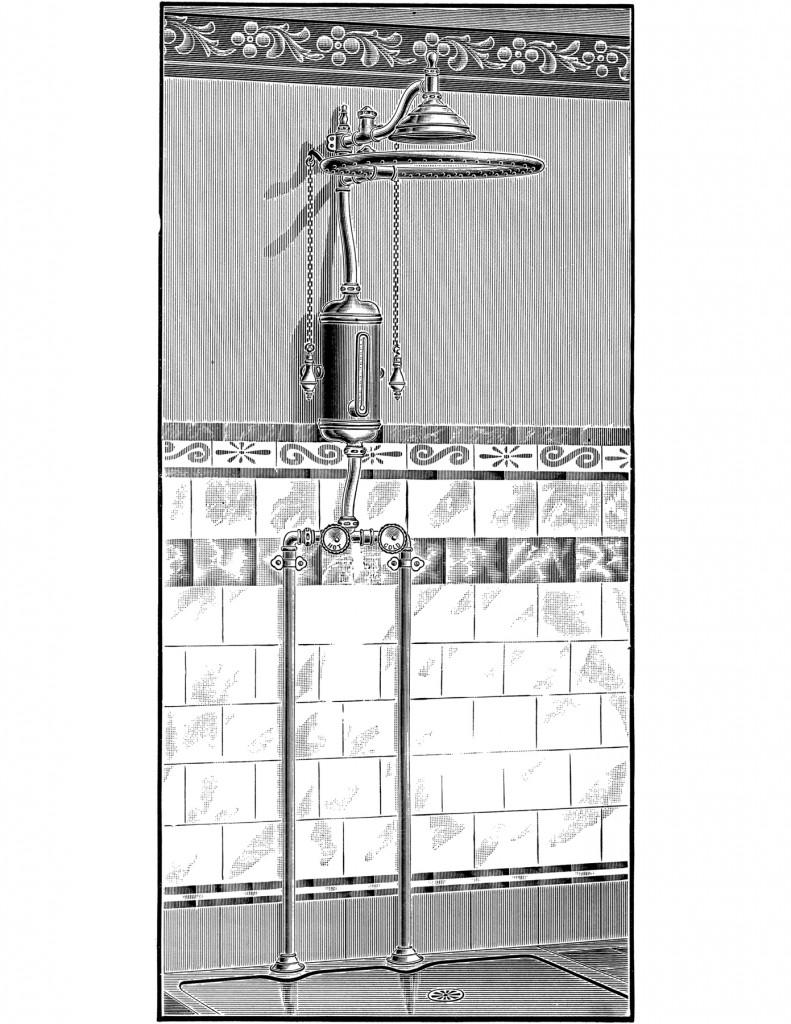 Vintage Shower Image