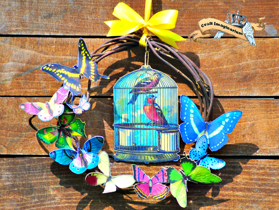 DIY Spring Wreath - Reader Featured Project