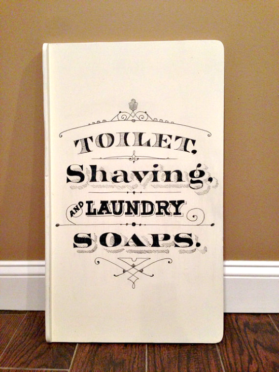 DIY Laundry Sign - Reader Featured Project