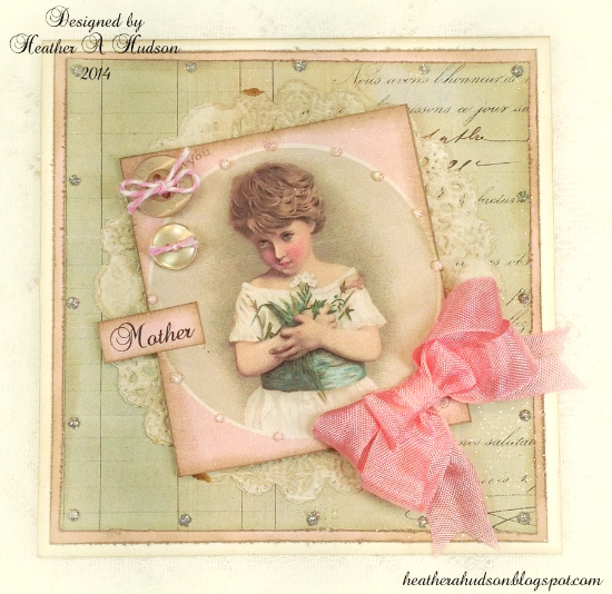 Beautiful Homemade Mothers Day Card - Reader Featured Project