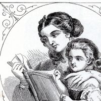Mother and Child Story Time Image
