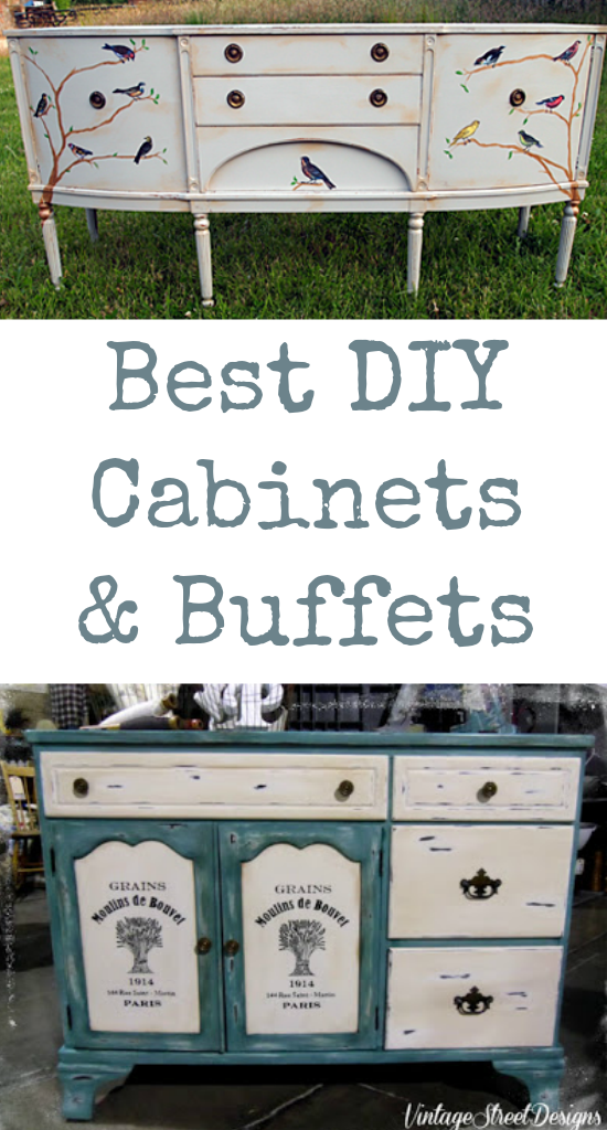 Best DIY Cabinet and Buffets